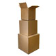6''x6''x6'' Corrugated Cube Shipping Boxes