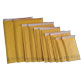 Kraft Bubble Mailers - #6 -12.5x19- 50 qty