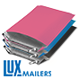LUX Colored Poly Bubble Mailers