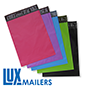 LUX Colored Poly Mailers