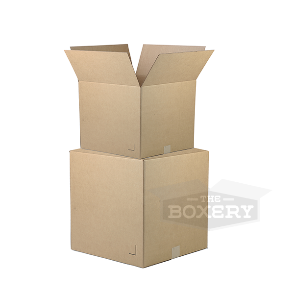 cube corrugated boxes corrugated boxes shipping supplies. Black Bedroom Furniture Sets. Home Design Ideas