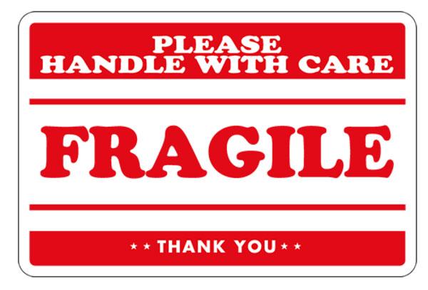 Fragile Labels Shipping Labels Packing Slips Labels
