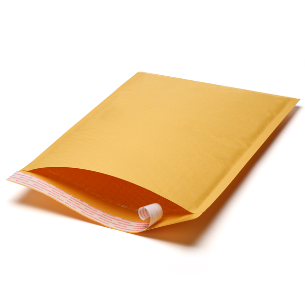 LUX Kraft Bubble Mailers #CD 250/cs