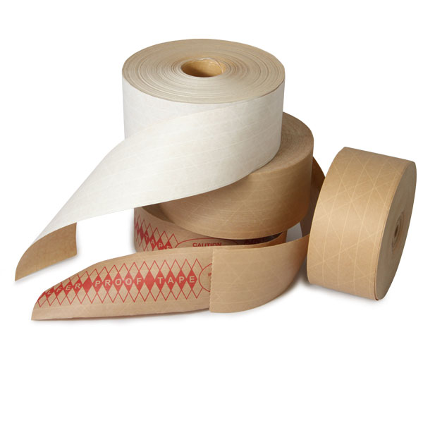 Reinforced Water Activated Tape 3''x450' Grade 233