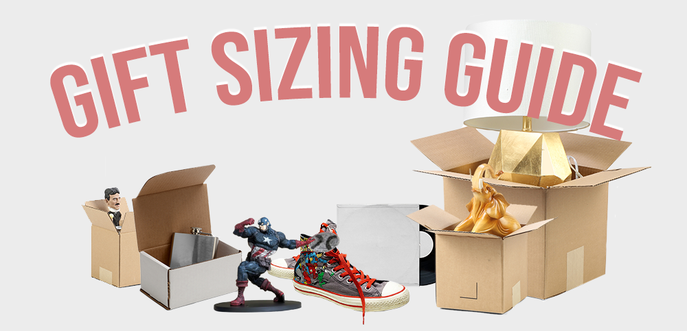 Gift sizing guide.