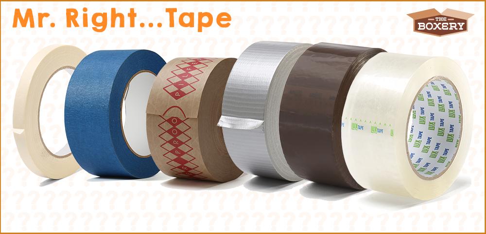 Mr Right…Tape.
