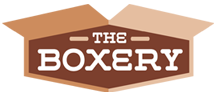 The Boxery homepage