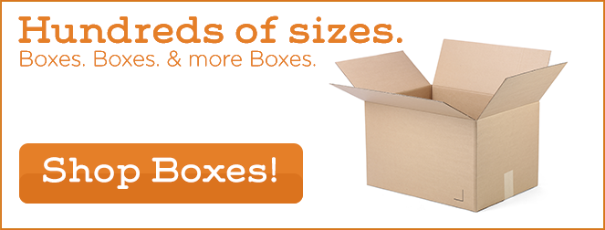 Hundreds of Sizes. Boxes, Boxes and more Boxes!