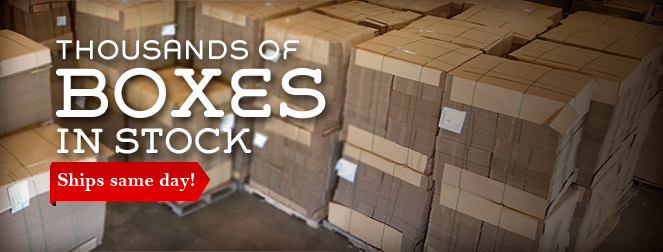 1000's of Boxes in Stock at the Best Price!